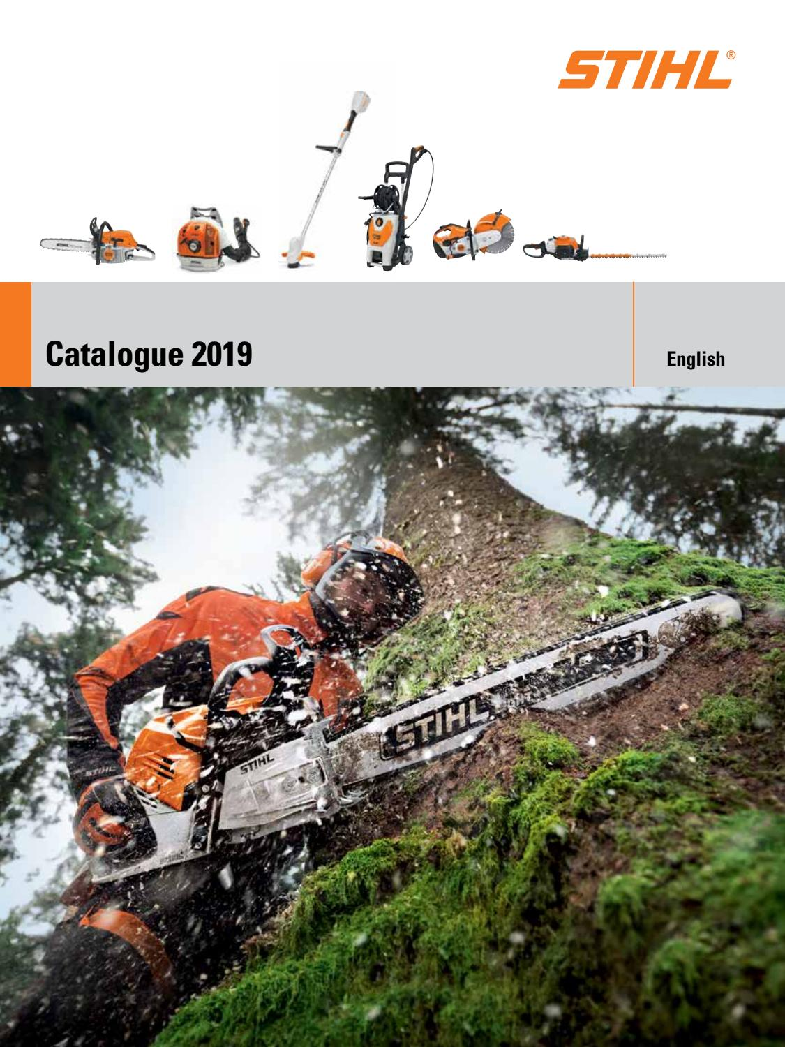 STIHL 2019 Catalogue | PrairieCoast equipment by PrairieCoast