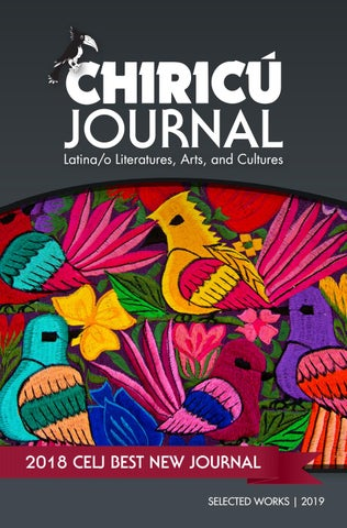 Chiricú Journal Selected Works 2019 by Indiana University Press - issuu