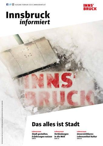 Innsbruck Informiert Februar 2019 By Innsbruck Informiert