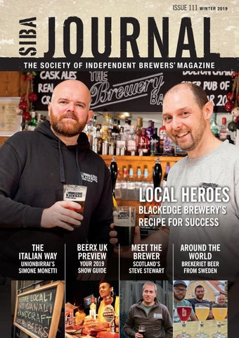 SIBA Winter Journal 2019 by SIBA, the Society of Independent Brewers