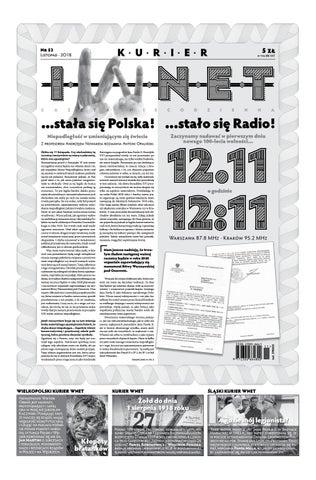 fbe6d272 Kurier WNET Gazeta Niecodzienna | Nr 53 | Listopad 2018 by ...