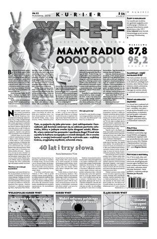 144ec65e412bb5 Kurier WNET Gazeta Niecodzienna | Nr 52 | Październik 2018 by ...