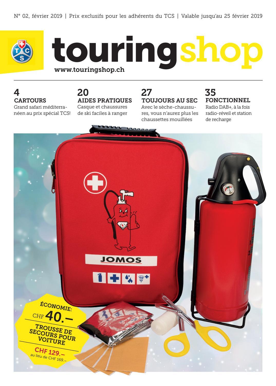 b9f8645bfa724b Touring Shop 02 / 2019 - français by Touring Club Schweiz Suisse Svizzera  Switzerland - issuu