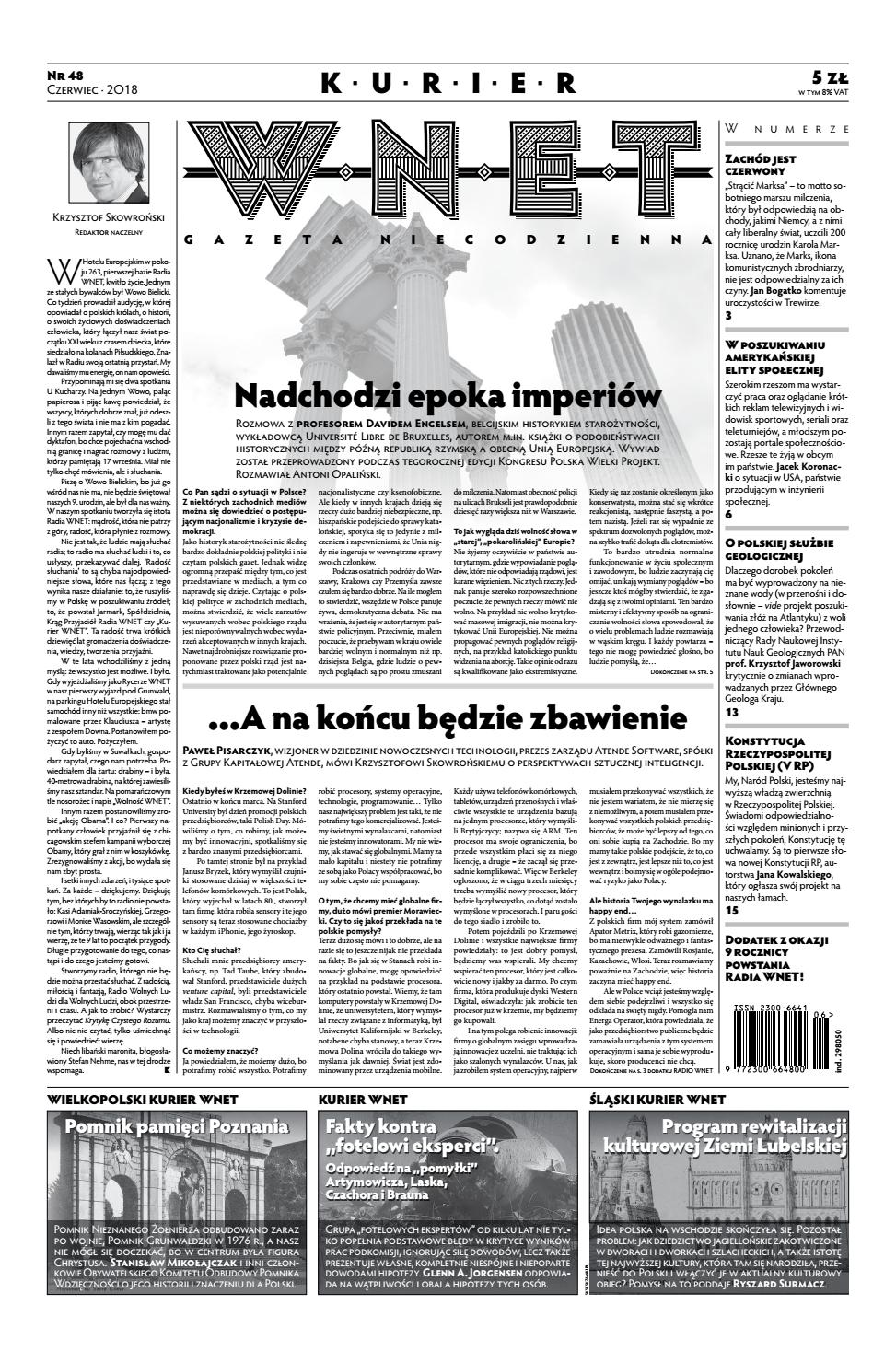 09f7c4a65807fc Kurier WNET Gazeta Niecodzienna | Nr 48 | Czerwiec 2018 by KurierWNET -  issuu