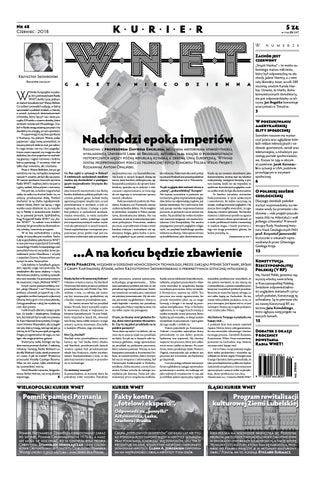 03c591062bf16 Kurier WNET Gazeta Niecodzienna | Nr 48 | Czerwiec 2018 by ...