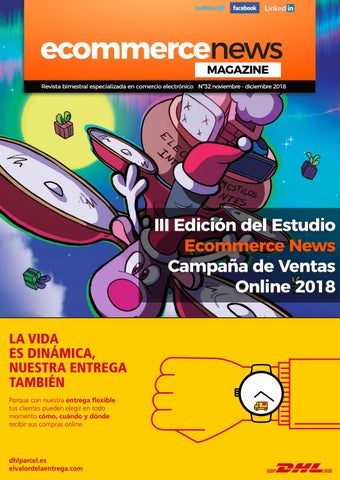 0d30862a4ceb EcN Magazine N32 Noviembre-Diciembre 2018 by Ecommerce News - issuu
