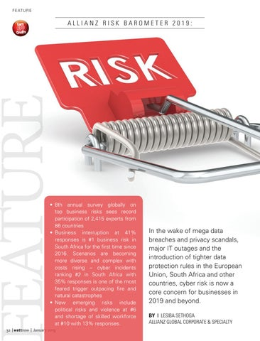 Page 32 of Business Interruptions a risk in SA