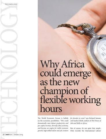 Page 48 of Why Africa could emerge as the new champion of flexible working hours
