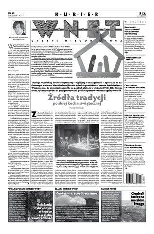 7ac9fc06f4a806 Kurier WNET Gazeta Niecodzienna | Nr 42 | Grudzień 2017 by ...