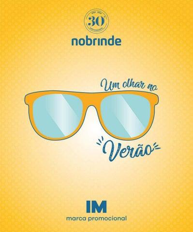 01f73321df461 Brindes Promocionais PV18 Nobrinde IM by MBA