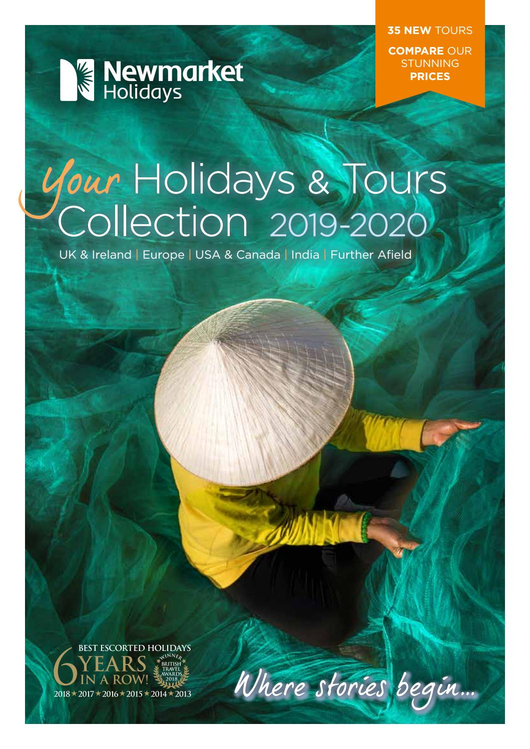 f79a90e5cfc Your Holidays   Tours Collection 2019-2020 by Newmarket Holidays - issuu
