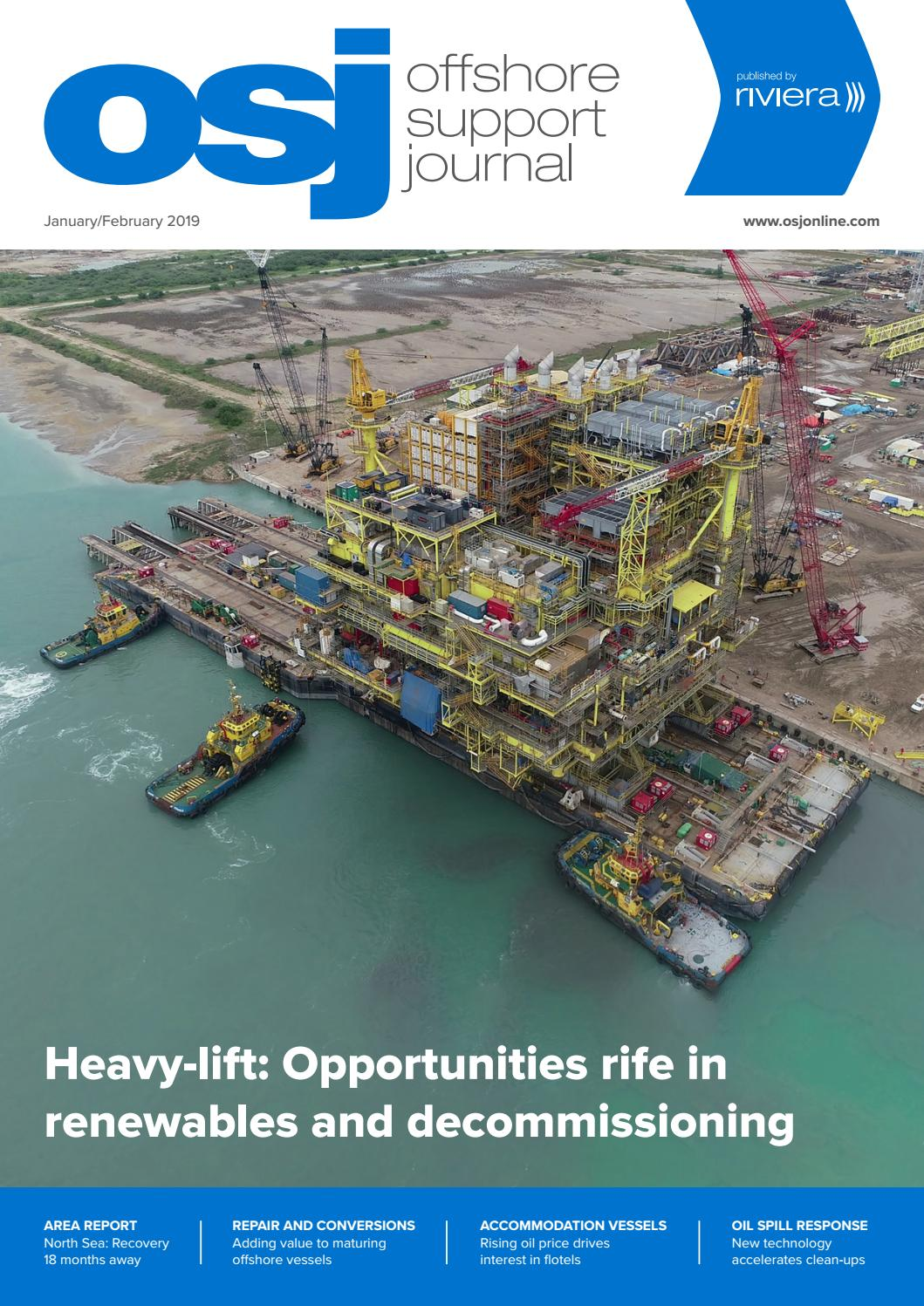 Offshore Support Journal January/February 2019 by