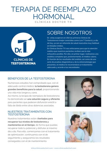 terapia de disfunción eréctil y reemplazo de testosterona en línea