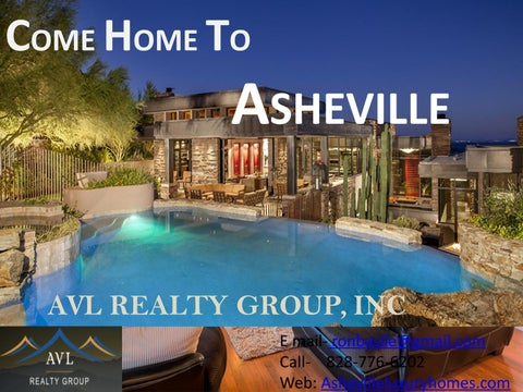 Remarkable Asheville Nc Real Estate By Avl Luxury Vacation Rentals Issuu Interior Design Ideas Oxytryabchikinfo