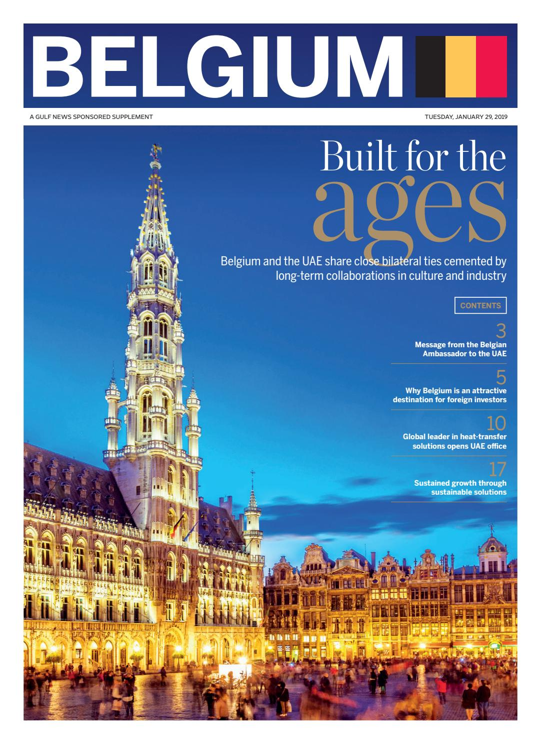 Belgium - A Gulf News Sponsored Supplement by TPME FZE - issuu