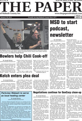 The Paper Of Wabash County Jan 30 2019 Issue By The Paper Of