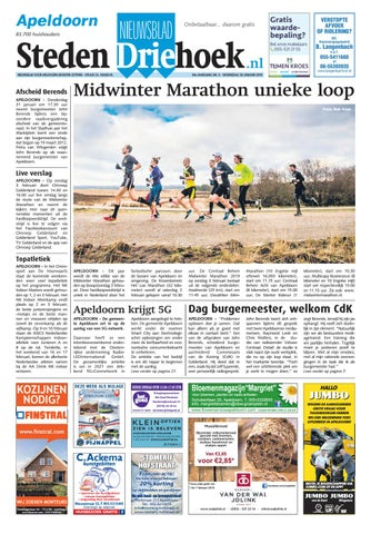 7cef0fae74c Nieuwsblad stedendriehoek Apeldoorn wk05-2019 by Uitgeverij ...