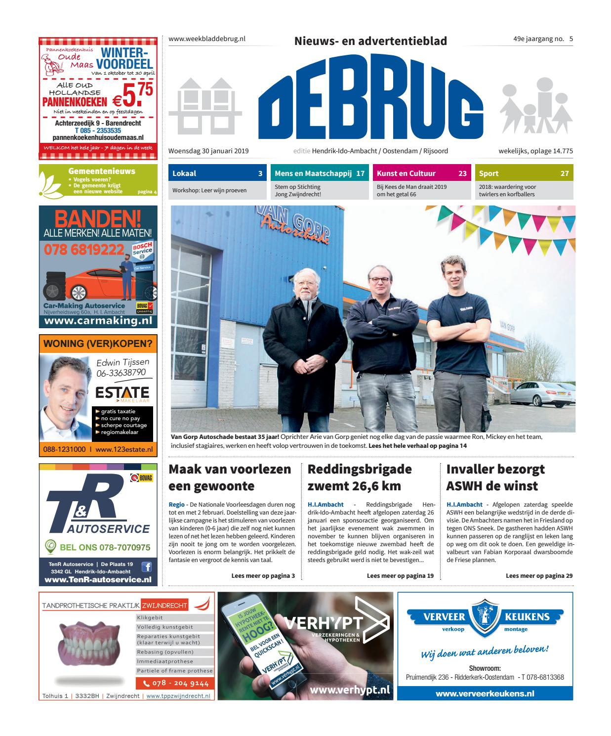 12cba1b966ab9 Weekblad De Brug - week 5 2019 (editie Hendrik-Ido-Ambacht) by Uitgeverij  De Brug - issuu