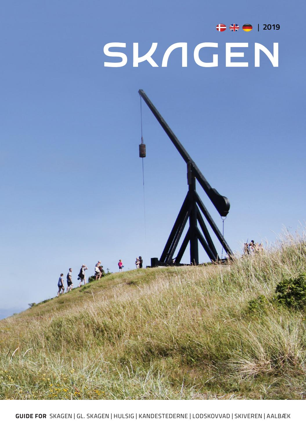 Skagen Guide 2019 By Turisthus Nord Issuu