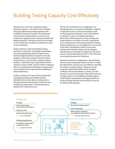 Page 32 of Building Testing Capacity Cost-Effectively