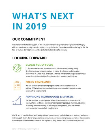 Page 34 of What's Next for CLASP in 2019