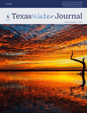 Texas Water Journal, Volume 9, Number 1, 2018 by Texas Water