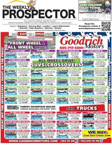 1-29-19 Weekly Prospector by Black Hills Pioneer - issuu on