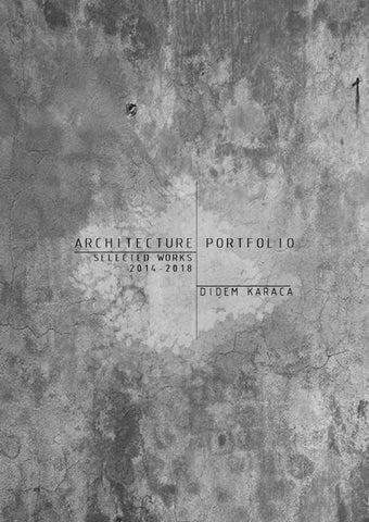 Mimari Portfolyo 04 01 By Yeliz Otkıran Issuu