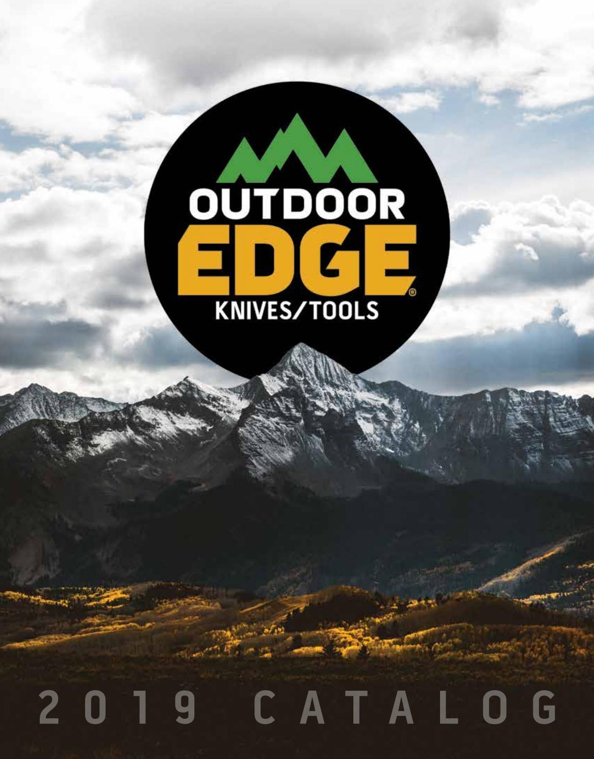 "Outdoor Edge FW-70 Flip-N-Saw Black Non-Slip Handle 7/"" Saw With Nylon Sheath"