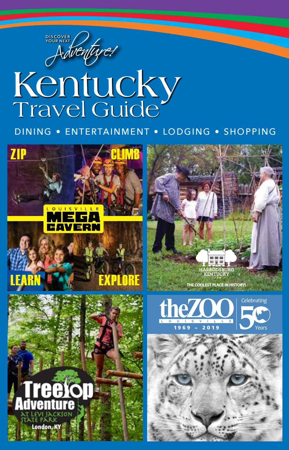 2019 Winter Edition of Kentucky Travel Guide by Kentucky