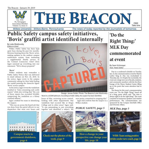 The Beacon - Jan  29, 2019 (Vol  72, Issue 11) by Wilkes Beacon - issuu