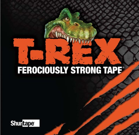TRex Ferociously Strong Tape by Ram Tool Construction Supply