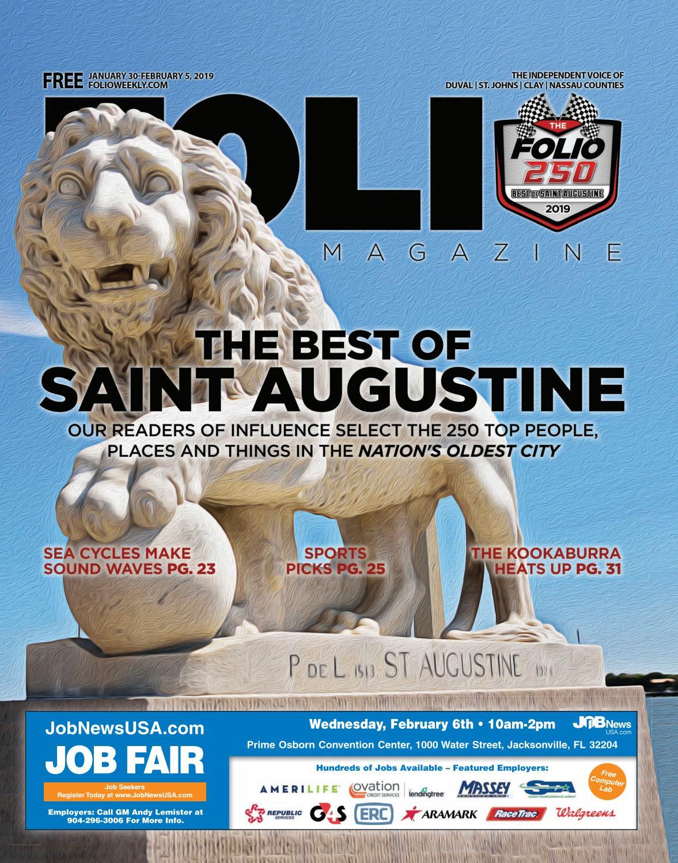 5c772fff620274 The Best of Saint. Augustine by Folio Weekly - issuu