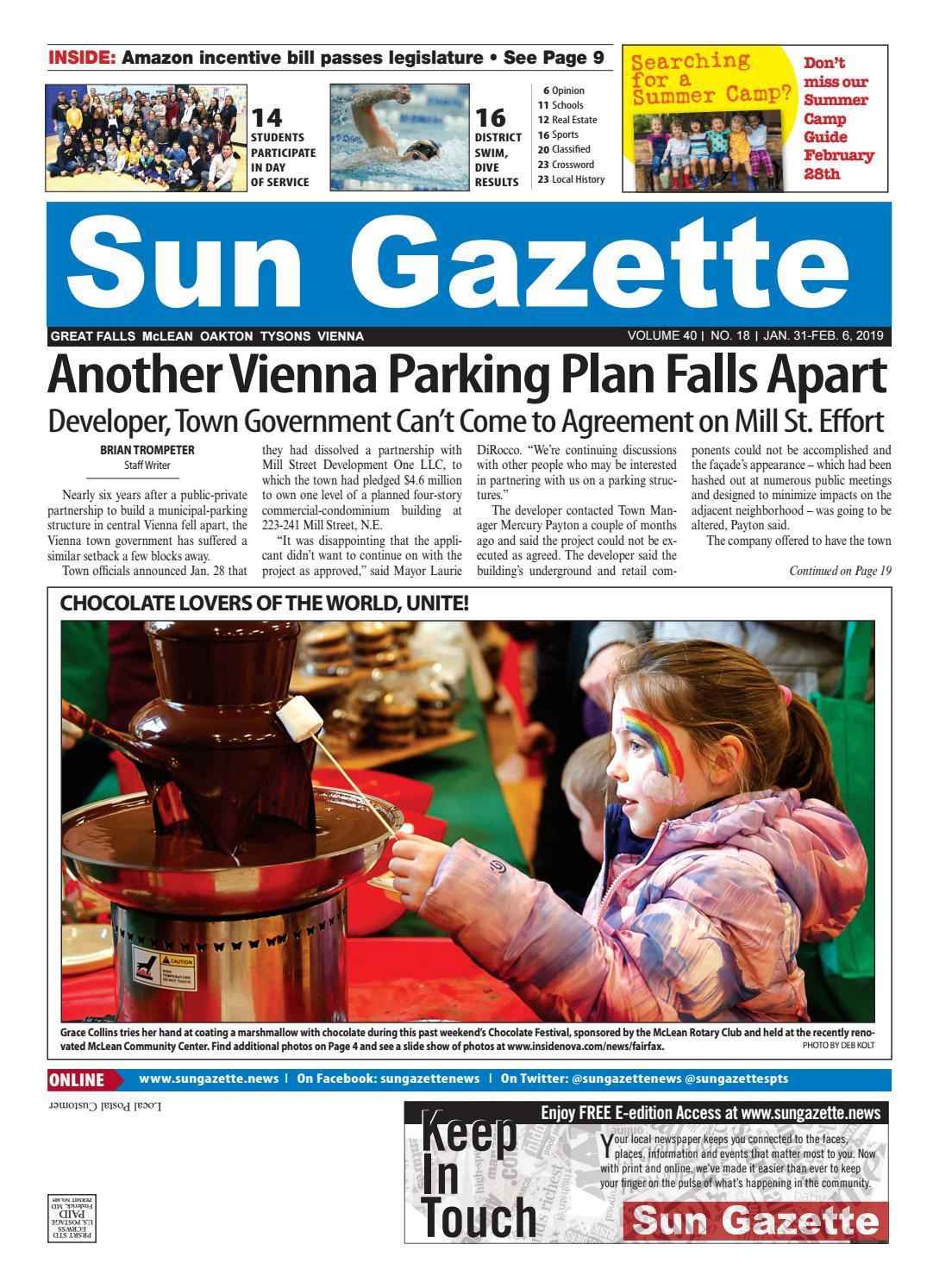 Great Falls, McLean, Oakton, Vienna Sun Gazette by