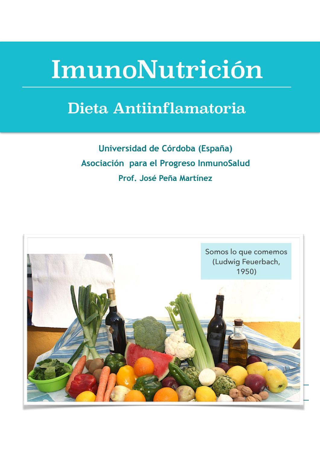 La dieta analgesica y antiinflamatoria pdf