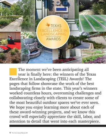 Page 14 of Texas Excellence in Landscaping Gold Winners