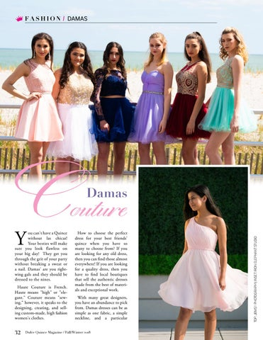 2fe5dc92ab Dulce Quince Magazine Fall Winter 2018 - A Quinceañera Magazine by ...