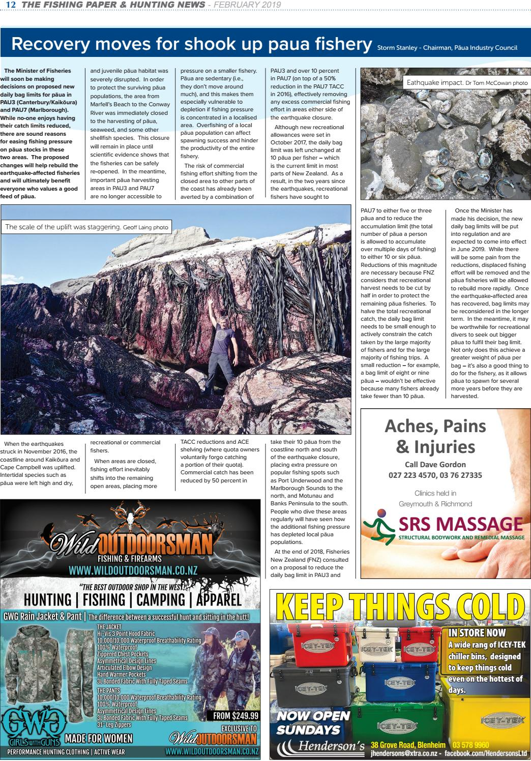 The Fishing Paper & Hunting News - February Issue No 161 by