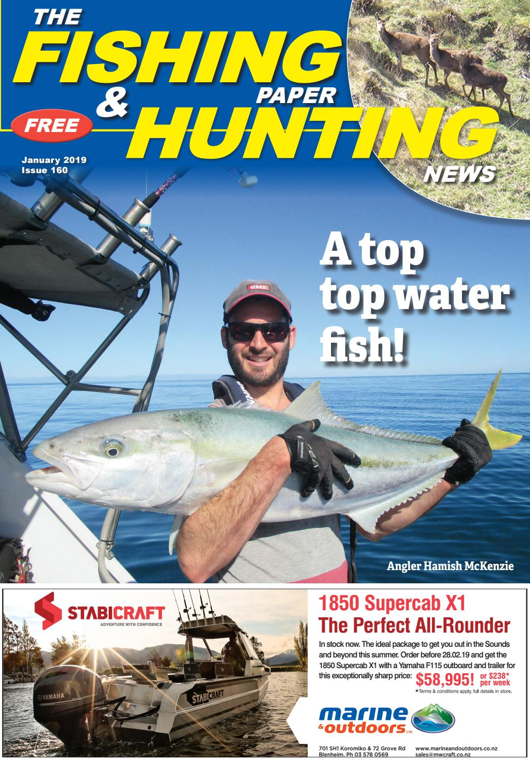 fb89a02d4331 The Fishing Paper   Hunting News January Issue 2019 No.160 by The Fishing  Paper - issuu
