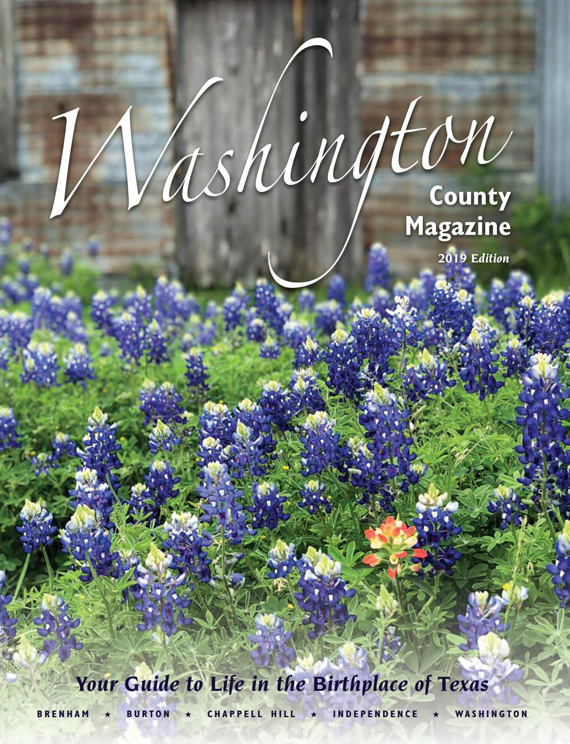 2019 Washington County Magazine by Washington County Chamber