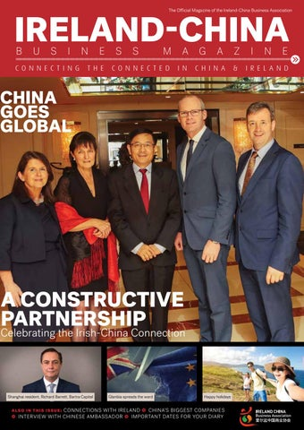 Ireland China Business Magazine By The Public Sector Magazine Issuu