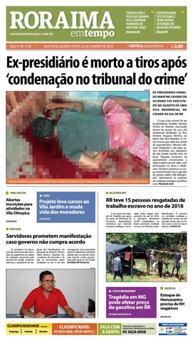 2218155358 Jornal Roraima em tempo – edição 1138 by RoraimaEmTempo - issuu