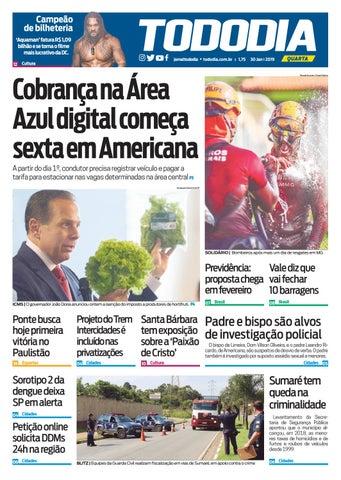 Jornal TodoDia - Edição 29 01 by Jornal TodoDia - issuu 74591e6c27e3a
