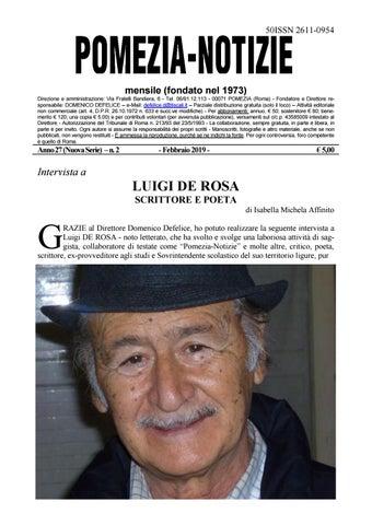 1db150ed5844 Pomezia Notizie 2019 2 by Domenico - issuu