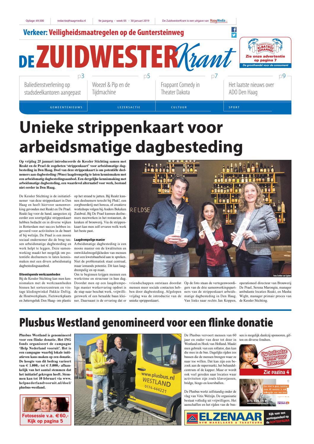 de zuidwesterkrant week 05 2019 by haagmedia issuuTeammanager Zorg En Welzijn.htm #9