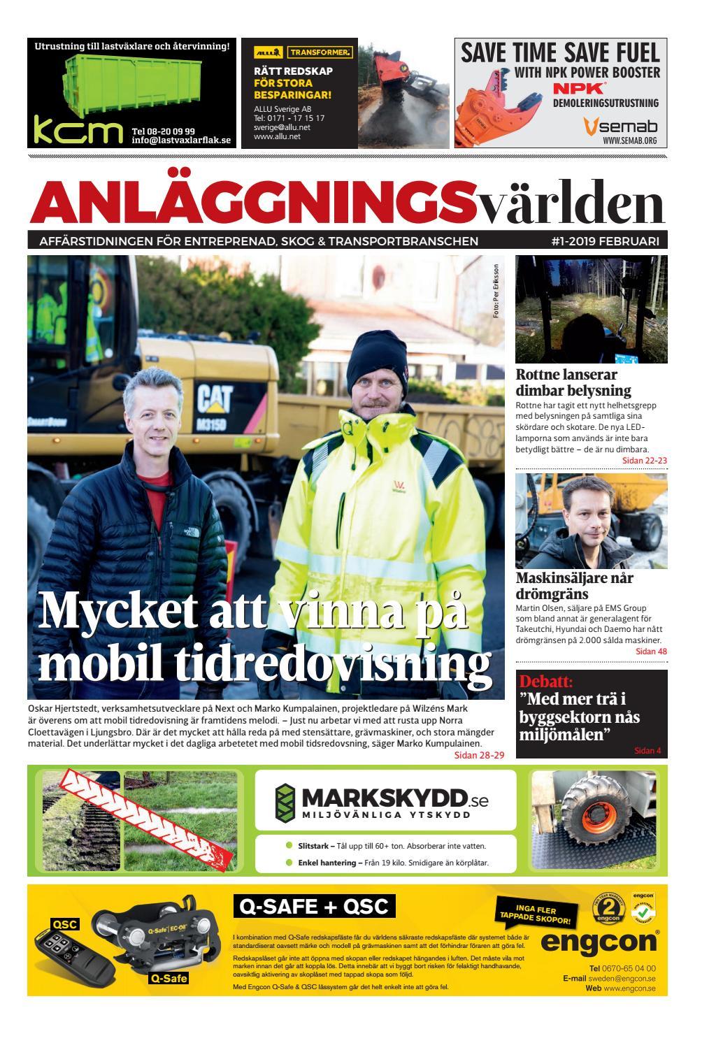 Anläggningsvärlden 0119 by Anläggningsvärlden - issuu 65f49206cb0f2