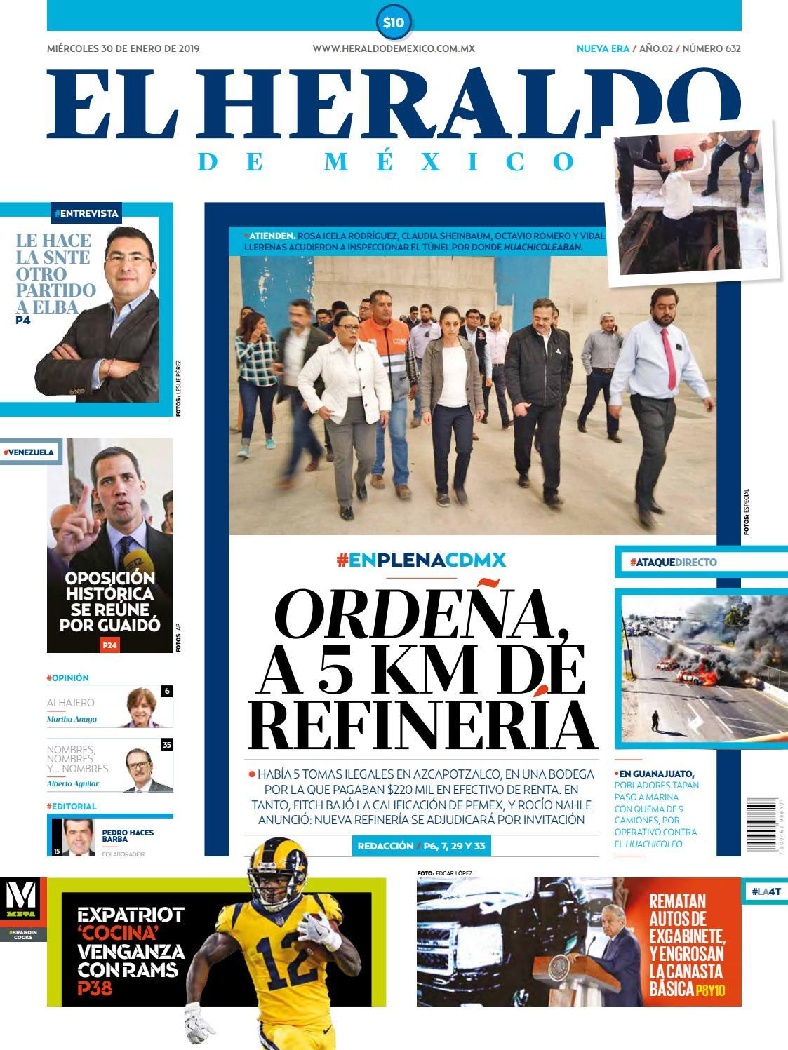 44632df337 30 de enero de 2019 by El Heraldo de México - issuu