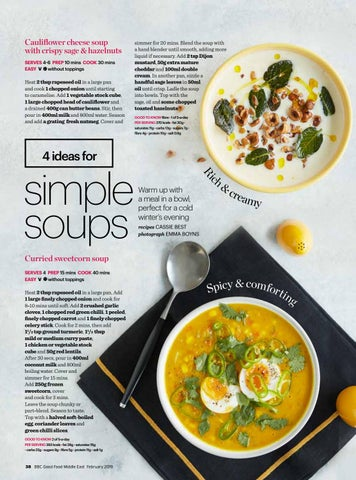 Page 40 of 4 Ideas for Simple Soups