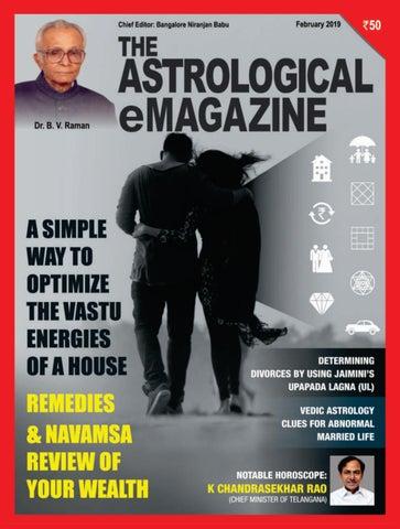 The Astrological eMagazine February 2019 by Bangalore Niranjan Babu
