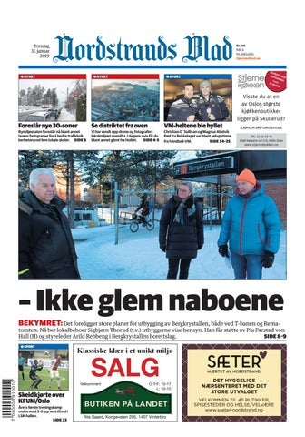 04f43fea Nordstrands Blad by Amedia Annonseproduksjon AS - issuu